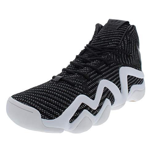 adidas Originals Mens Crazy 8 ADV PK Sport Basketball Shoes B/W 9.5 Medium (D)