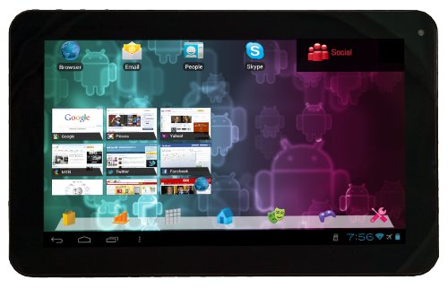 Visual Land Connect 9-Inch Tablet with 8GB Memory (Black)