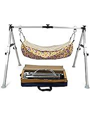 Indian Style Ghodiyu Two Feet Sleep Swing Baby Cradle with Fabric Cloth Free