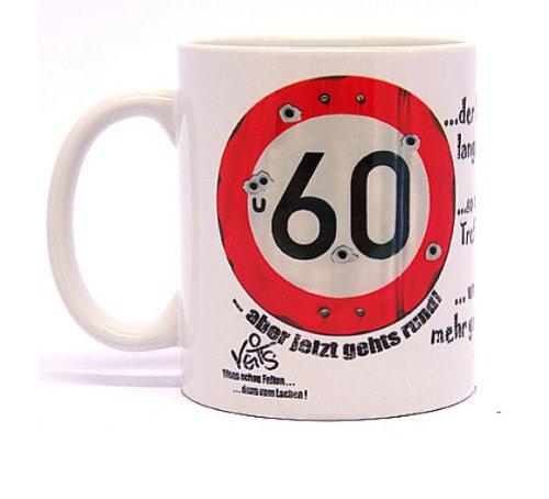 Divertidos dibujos animados taza de café para 50º cumpleaños ...