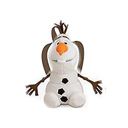 Price comparison product image Disney Frozen Olaf Baby Boy or Girl Plush Backpack Bag - 17 Inch