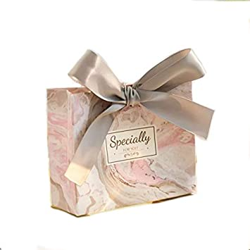 Floral Thank You, Medium 10//Pack A Pack Party Gift Wedding Paper Bag with Ribbon