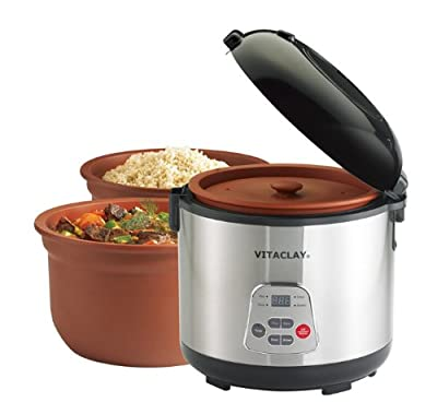 VitaClay 2-in-1 Rice 'N Slow-Cooker