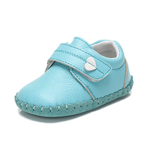 Fbetter,Baby First Walking Shoes For Baby Girls Boys Sneakers Light-blue 12-18 Month (13CM) (Light Blue Shoe Baby)