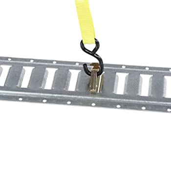 Heavy Duty 2 inch E-Track Tie Down without Ring (Break Strength: 6,000 lbs. Working Load Limit: 2,000 lbs.)