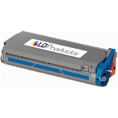 LD Okidata Remanufactured 41304207 Cyan Type C2 Laser Toner Cartridge