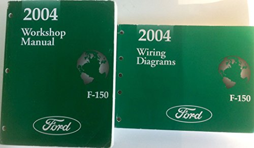 2004 Ford F-150 Pickup Truck 2-Vol. Set of Factory Workshop Service Repair Shop Manuals (Includes the Main Workshop Manual, Ford Part No. FCS-13790-04 and the Wiring Diagrams Manual, Ford Part No. FCS-13791-04) ()