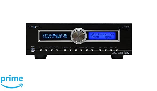 Amazon.com: Cary Audio SI-300.2D Integrated Amplifier, Black: Electronics