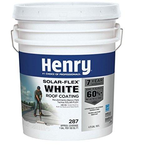 HENRY HE287SF871 Roof Coat, 5 Gallon
