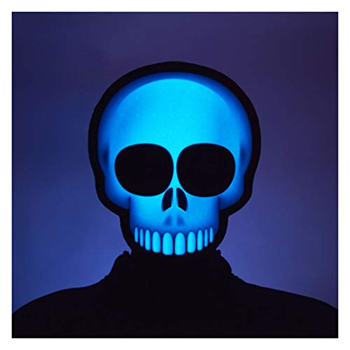 GlowCity Light up Emoji Masks (Skull) Yellow