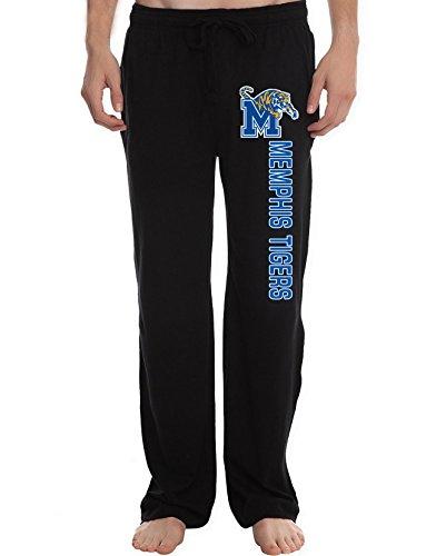 XTD Men's Memphis Tigers College Lounge Pajama Pants Memphis Tigers Mens Basketball