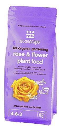 EcoScraps PFRF174404 Natural/OrganicRoseandFlower Plant Food by EcoScraps