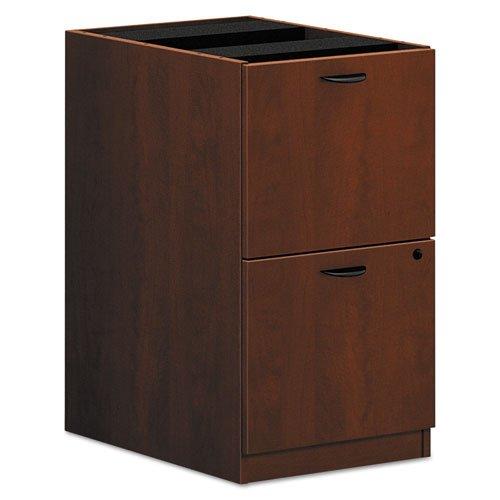Pedestal Lateral File Cabinet (HON BL Series Pedestal File , 2 File Drawers , 15-5/8