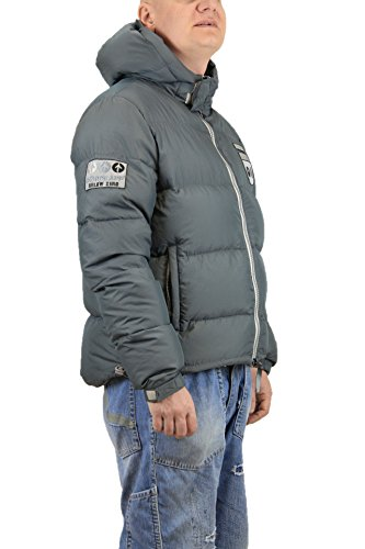 Hood Brown Down and Goose Real Grey Jacket Chpapa Grey with g8Xq74xT