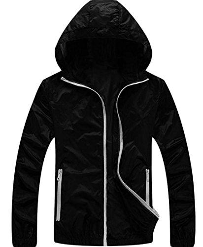 XiaoTianXin-men clothes XTX Mens UV-Protection Coat Thin Bre