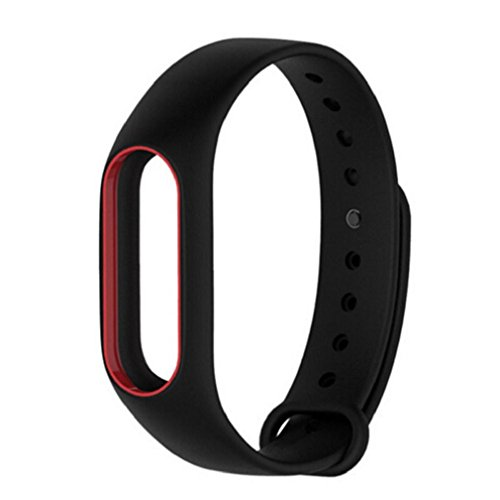 Price comparison product image For XIAOMI MI Band 2,GBSELL Fashion Silicon Wrist Strap WristBand Bracelet Replacement (E)