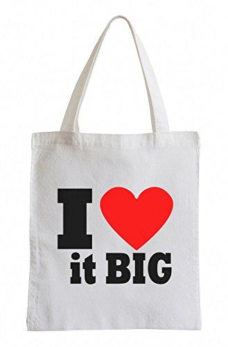 Mi piace moltissimo Big Fun sacchetto di iuta