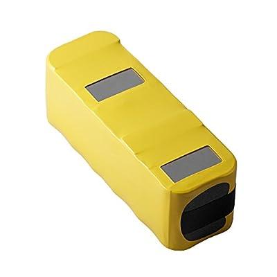 Authentic Infinuvo Battery for CleanMate 365 QQ1, QQ2 Basic, QQ-2 Green, QQ-2 White, QQ2L, QQ-2L, QQ-2 LT, QQ2 Plus and QQ200 Series Robotic Vacuums