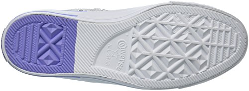 Converse Womens Madison Color Pop Mesh Low Top Sneaker Bianco / Mouse / Impulso Crepuscolare