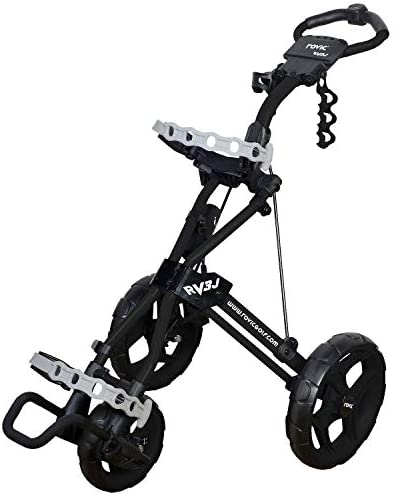 Rovic Model RV3J Junior Youth 3-Wheel Golf Push Cart