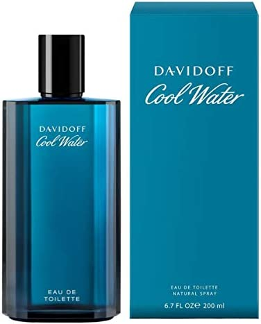 Davidoff Cool Water Edt Spray for Men, 6