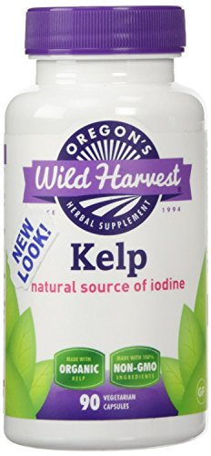 Oregon's Wild Harvest Organic Kelp - 90 caps (Pack of 2)