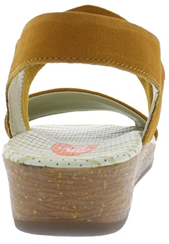 Softinos Damen Alp425sof Slingback Sandalen Honey