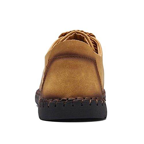 Komfort Flats On COOLCEPT 23 Müßiggänger Casual Slip Herren Schuhe Gold a41xwAZqx