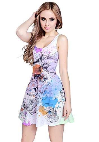 CowCow - Vestido - para mujer White Ink