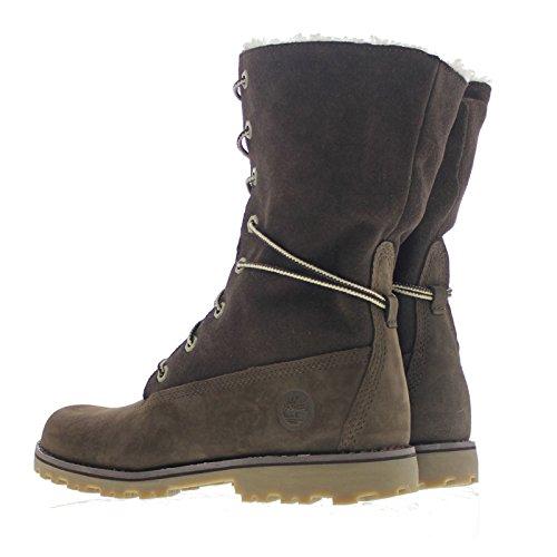 Timberland 6 In Wp Shearling Bo, Zapatos de Cuello Alto Unisex Niños Brown