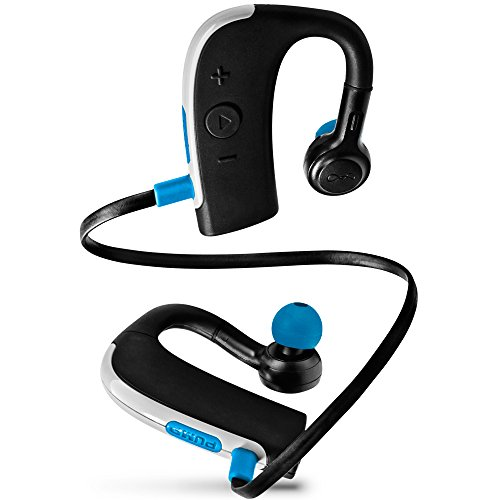 BlueAnt – Pump 2 HD Bluetooth Sportbuds, Military Grade, Rugged Design and Premium Audio Components (Black)