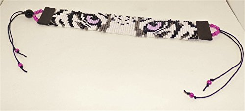 Tiger Wrap Around Beaded Bracelet in Pink (J Renee Wrap)