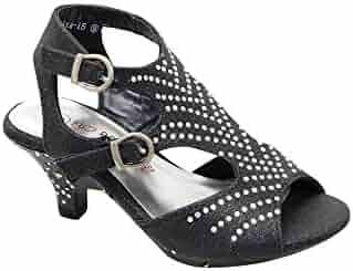 bb03d8af00da4 Shopping Green or Black - SophiasStyle - Sandals - Shoes - Girls ...