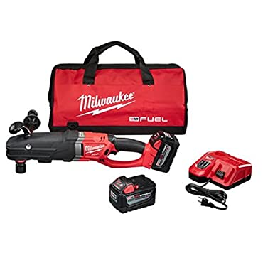 Milwaukee 2711-22HD M18 Fuel Super Hawg Right Angle Drill HD Kit w/ QUIK-LOK