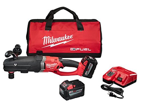 Milwaukee 2711-22HD M18 Fuel Super Hawg Right Angle Drill HD Kit w/QUIK-LOK