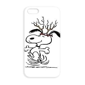 JiHuaiGu (TM) iPhone 5 5s funda Snoopy personalizado temático iPhone 5 5s funda OK4324