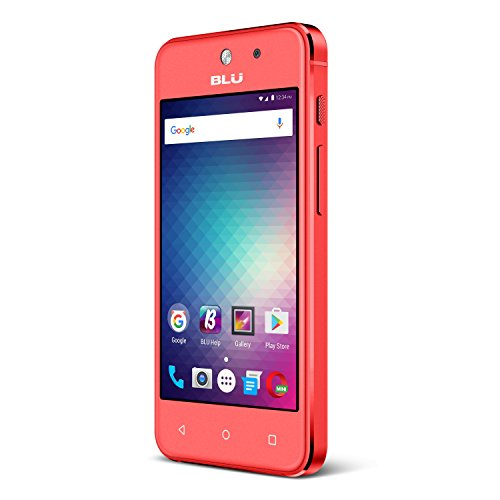 BLU Vivo 5 Mini 8 GB SIM-Free Smartphone - Red