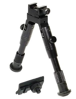 UTG Bipod, SWAT/Combat Profile, Adjustable Height