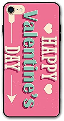 new styles 5404b 5a57d Amazon.com: Happy Valentine's Day IPhone 8 Case,iPhone 8s ...