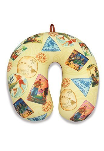 Travel Neck Pillow: Nostalgic Hawai'i by Welcome to the Islands
