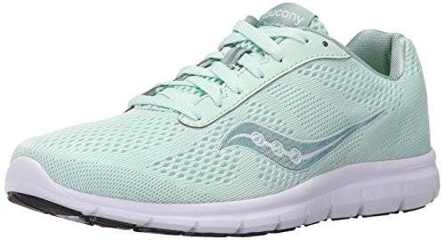 Saucony Womens Grid Ideal Running Shoe Mint/White