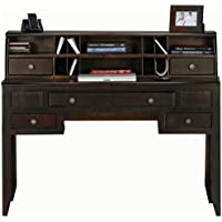 Eagle Coastal Writing Desk, Black Finish
