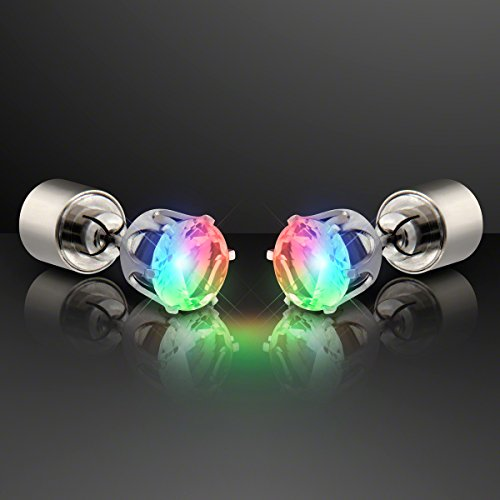 Color Changing Light Up LED Earrings for Pierced Ears