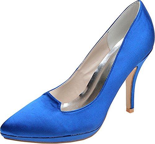 Find 36 Bleu 5 EU Compensées Femme Bleu Nice Sandales 1qPgU7