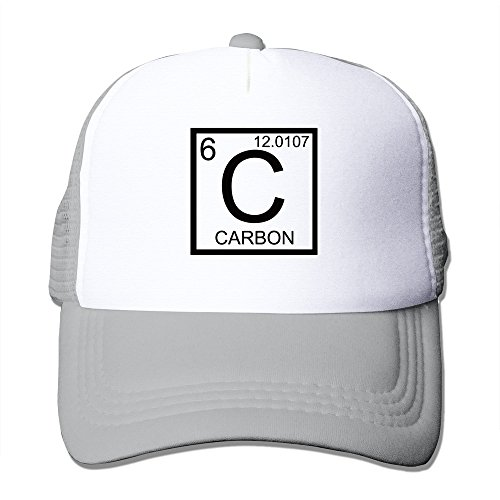WZN Carbon Symbol Carbon Periodic Table Hat With Ash - Curt Charcoal