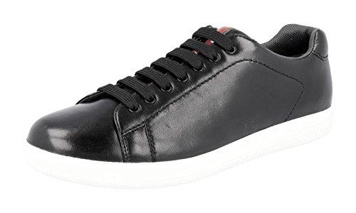 Sneaker In Pelle Prada Mens 4e2988 Oz7 F0002