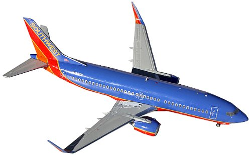 Gemini Jets Southwest B737-300W Diecast Aircraft (1:200 - Southwest Airlines Aircraft