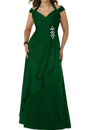 Stillvoll Grün Brautbegleiterinkleid der Ab von Taft Ivydressing Damen Schulter Lang Abendkleid wCnxYvWpW