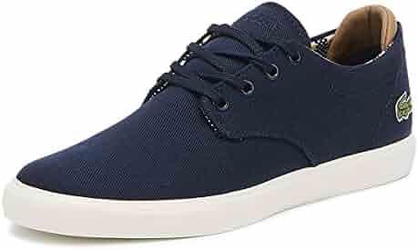 94266d08a5ea Lacoste Esparre 219 1 Mens Navy Sneakers