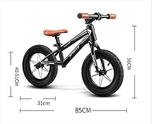 FesiAq Bicicleta de Equilibrio para niños niños y niñas de 2 a 9 ...